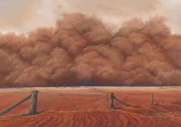 Relentless Dust - Gallery Acrylic